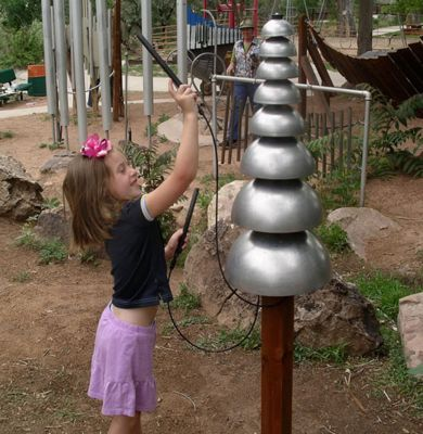 Pagoda Bells - Outdoor Musical Equipment - American Parks Company