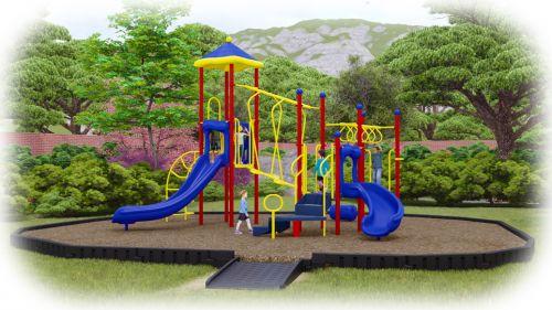Amazing Adventure Playground Bundle with Engineered Wood Fiber