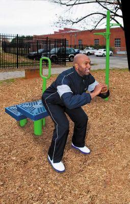 Step-Up Fitness Station