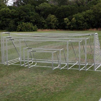 Commercial Playground Equipment - Elite Club Soccer Goals - American Parks Company