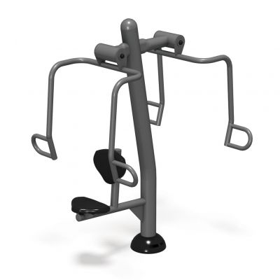 Accessible Vertical Press- Outdoor Fitness Equipment - American Parks Company