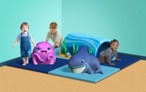 FUNder the Sea - Themed Indoor Play Structure