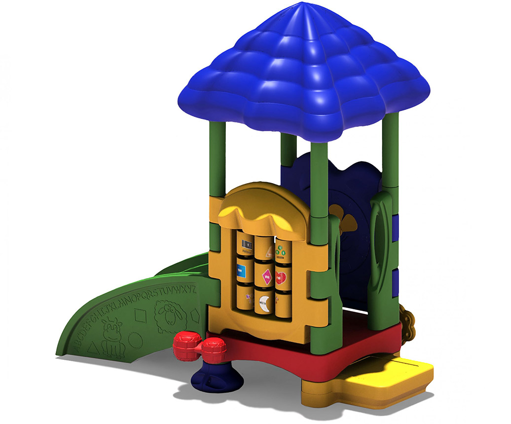 DC Super Sprout With Roof Option - Toddler Playground Equipment