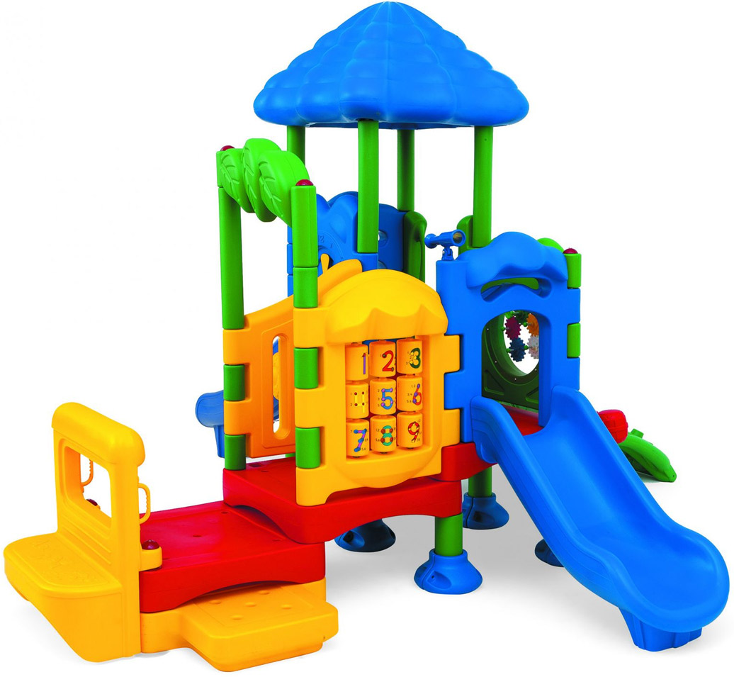 Discovery Center 4 Play Structure | Commercial Playground Equipment