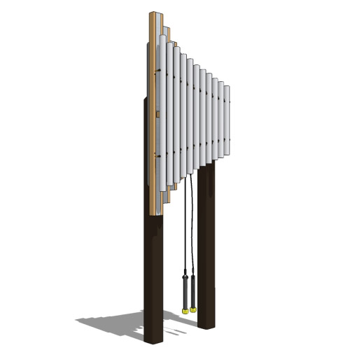 Griffin Outdoor Chime | Musical Playground Equipment | American Parks Company