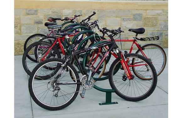 Helix Bike Rack - Site Furnishings - American Parks Company
