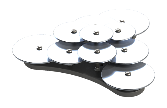 Lilypad Cymbals - Outdoor Musical Instruments - American Parks Company