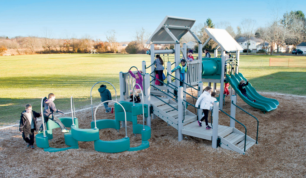 commercial playground equipment - unity - lifestyle