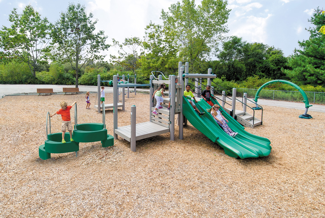 Pinnacle Play Structure - lifestyle