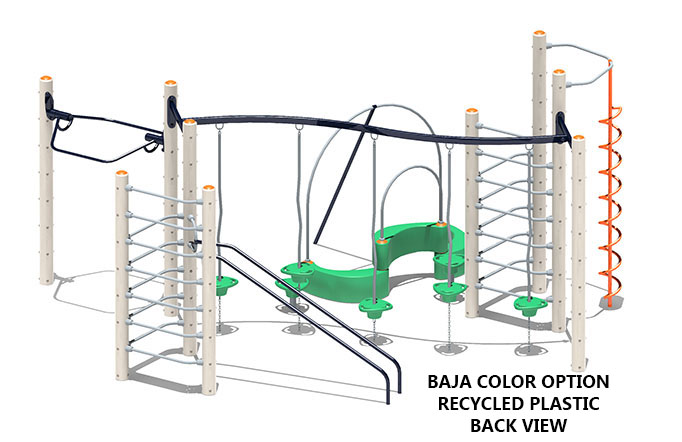 Rainier - commercial playground equipment - lifestyle