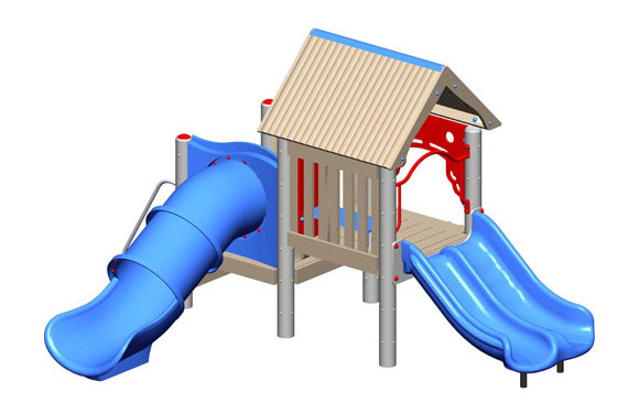 Boone - Recycled Play Structure - Commercial Playground Equipment