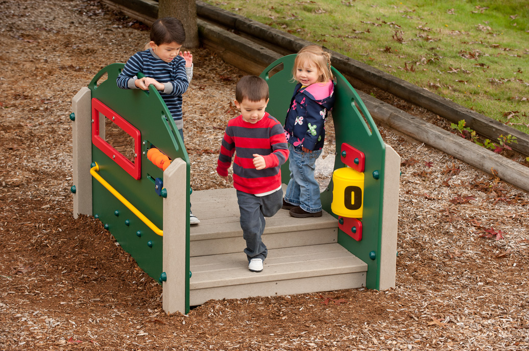 Kinder Crossing - Recycled Material Playground Equipment