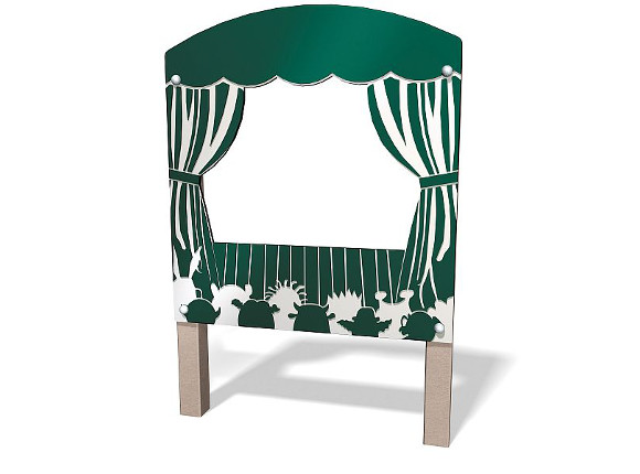 Puppet Theater Panel - Outdoor Learning - Commercial Playground Equipment