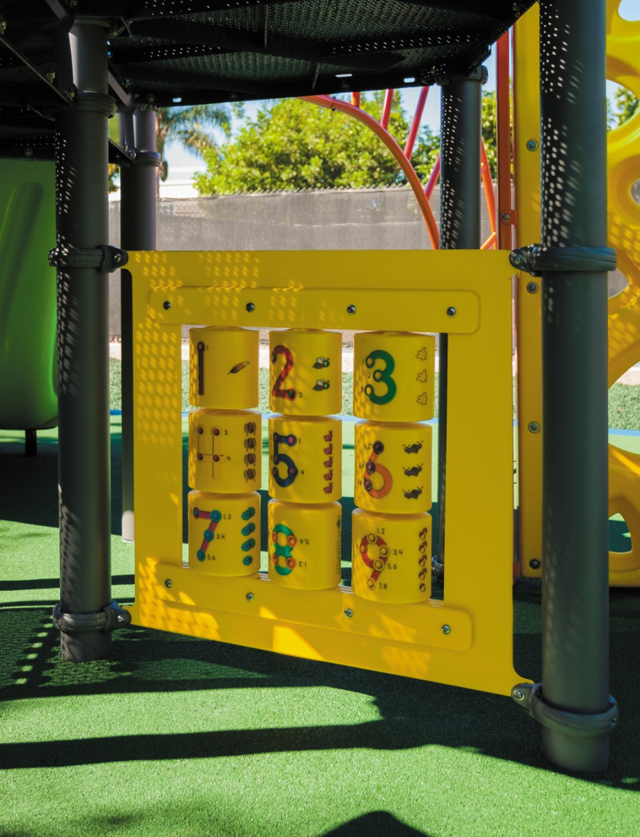 TouchMath Panel - Independent Play Items - Commercial Playground Equipment