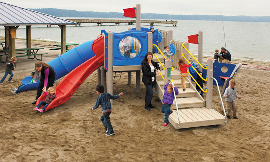 SS BigToy - commercial playground equipment - lifestyle