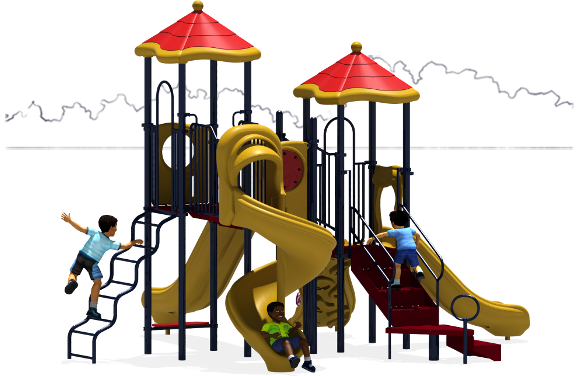 Molly's Mansion - Commercial Playground Equipment - Primary - Front