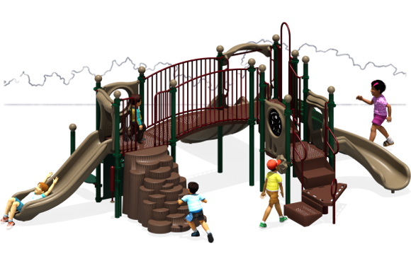 Payton's Place - Commercial Playground Equipment - Natural Front