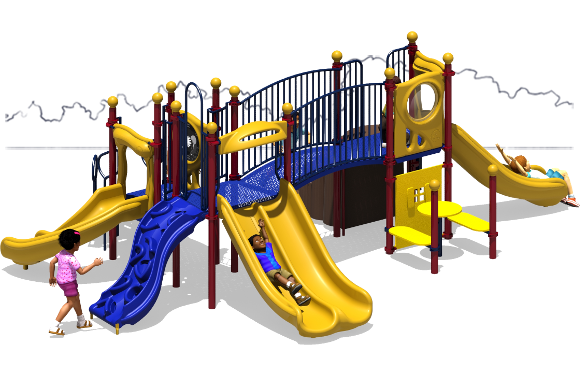 Payton's Place - Commercial Playground Equipment - Primary - Back