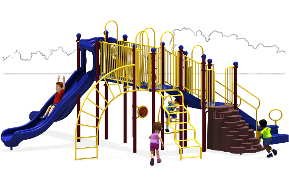 Autumn Breeze - Commercial Playground Equipment - Primary - Front