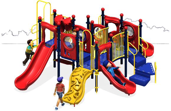 Grand Central - Commercial Playground Equipment - Primary - Front