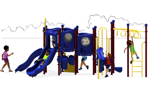 Connect Five - Commercial Playground Equipment - Primary - Front