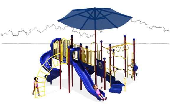 Rising Star Commercial Play Structure - American Parks Company - Top