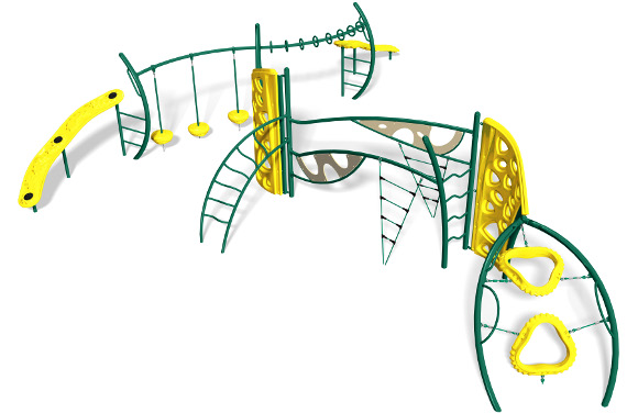 Dawn to Dusk - Commercial Playground Equipment - 3D View