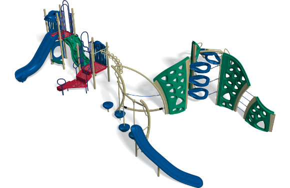 Southern Lights - Commercial Playground Equipment - 3D View