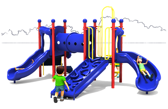 Holiday Hill - Commercial Playground Equipment - American Parks Company - Primary Front
