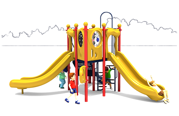 Lime Light - Commercial Playground Equipment - American Parks Company - Primary Front