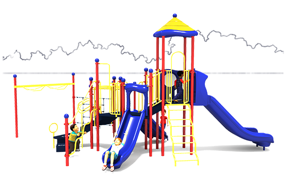 Play by Play - Primary - Front View | Commercial Playground Equipment | American Parks Company
