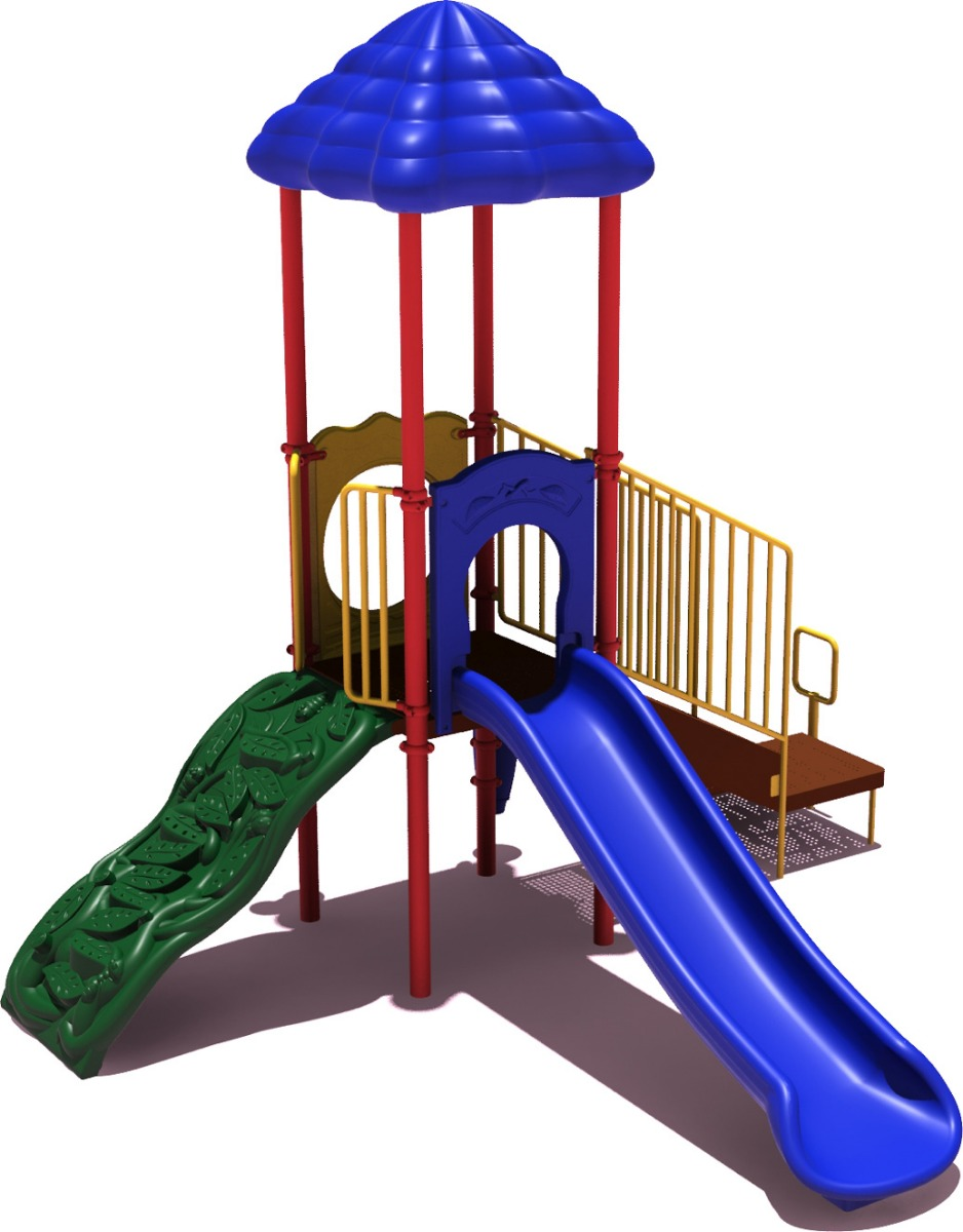 Winning Run - primary Color Scheme - Front View - Commercial Playground Equipment