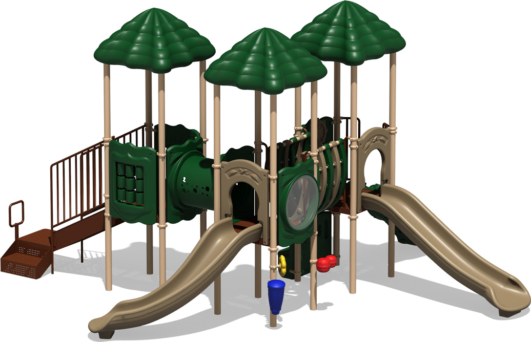 Scoreboard - natural Color Scheme - Front View - Commercial Playground Equipment