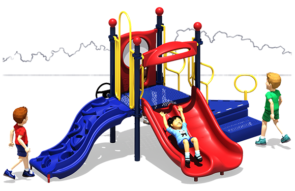 Magic Minnie - Commercial Play Structure - Primary - Front