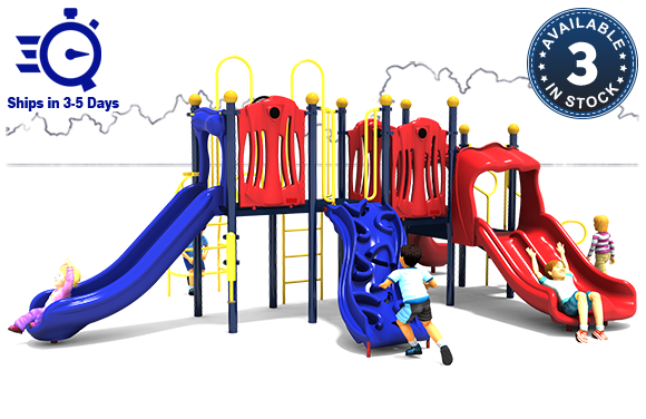 Rhyme 'n Reason - Commercial Playground Equipment - Primary - Front