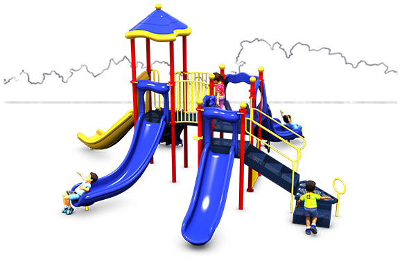 Magic Mountain - Commercial Playground Equipment - American Parks Company