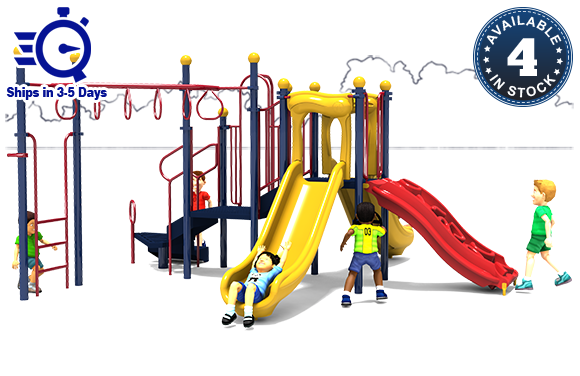 Word to the Wise - Commercial Playground Equipment - Primary - Front
