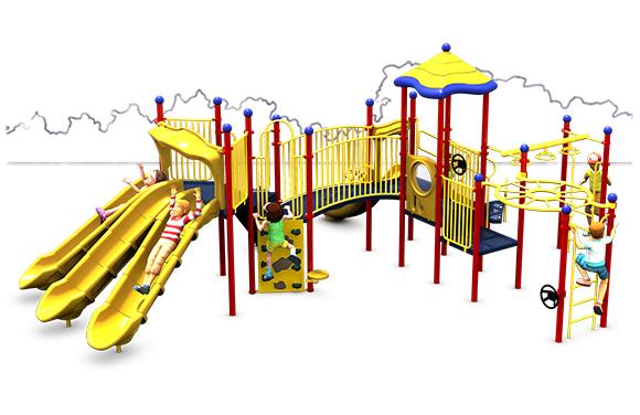 Martha's Vineyard - Playground Structure - Primary - Front