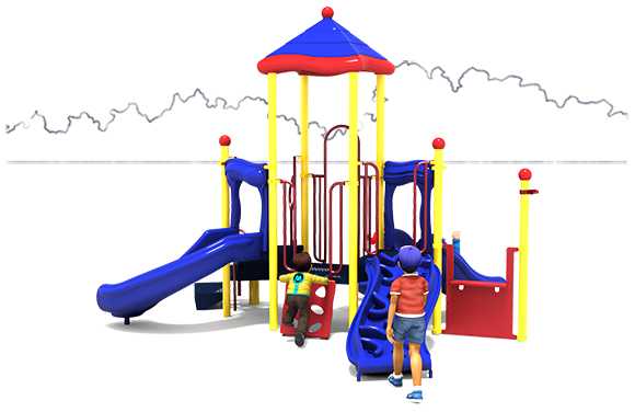 Tried 'n True - Commercial Playground Equipment - Primary - Front View