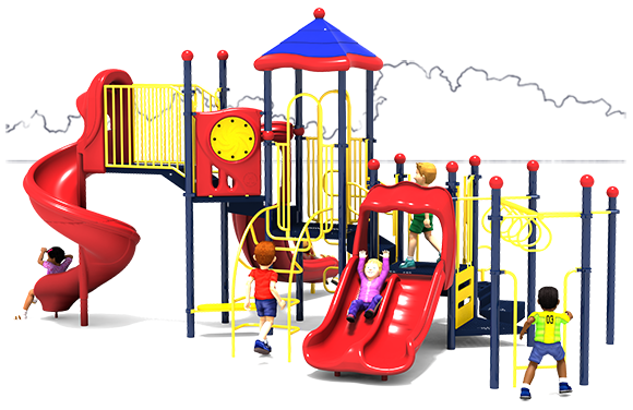 Goodtimes - Commercial Play Structure - Primary - Front