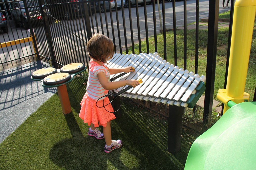 Pegasus Outdoor Xylophone - Commercial Playground Equipment - American Parks Company