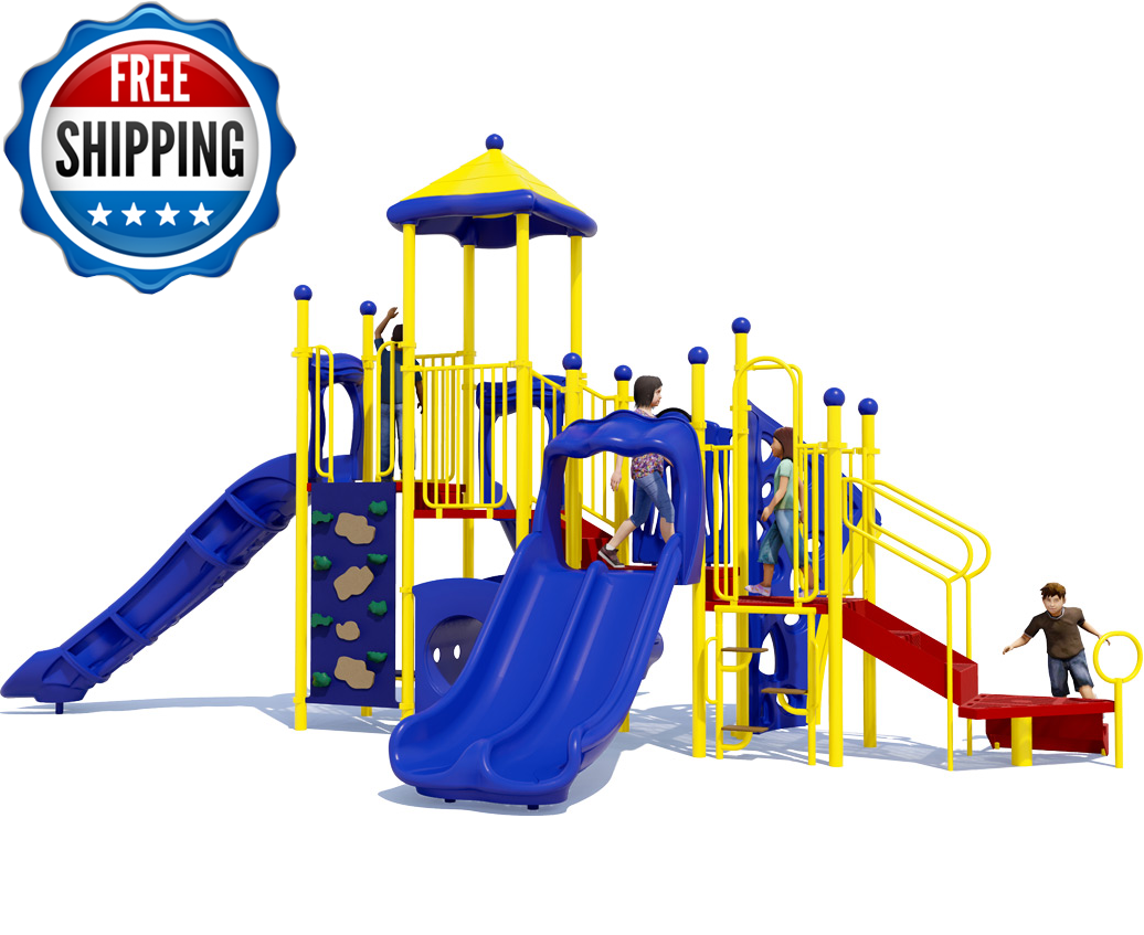 FREE SHIPPING ON COMMERCIAL PLAYGROUND EQUIPMENT - Playscape