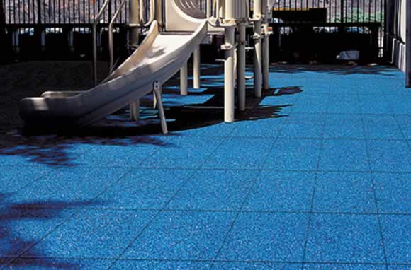 Rubber Safety Tile | American Parks Company