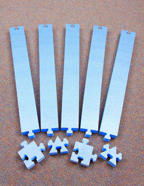 WeeKidz Puzzle Beams - Large Set