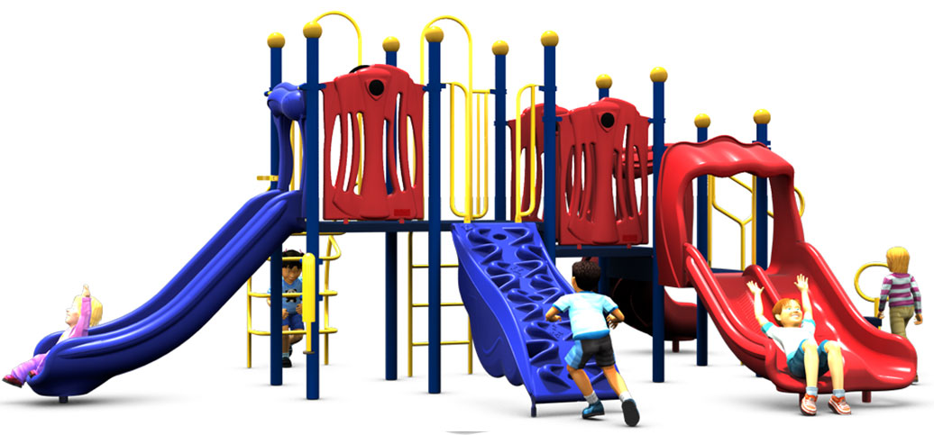 Rhyme 'n Reason Playground Equipment - Primary Color Scheme