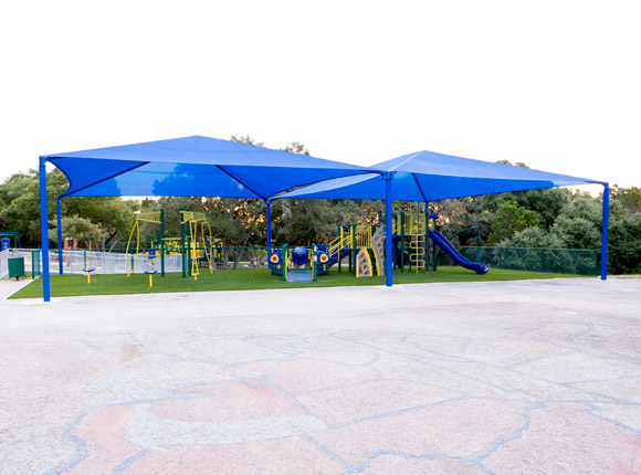 Square Shade Structure - Commercial Playground Equipment - Site Furnishings
