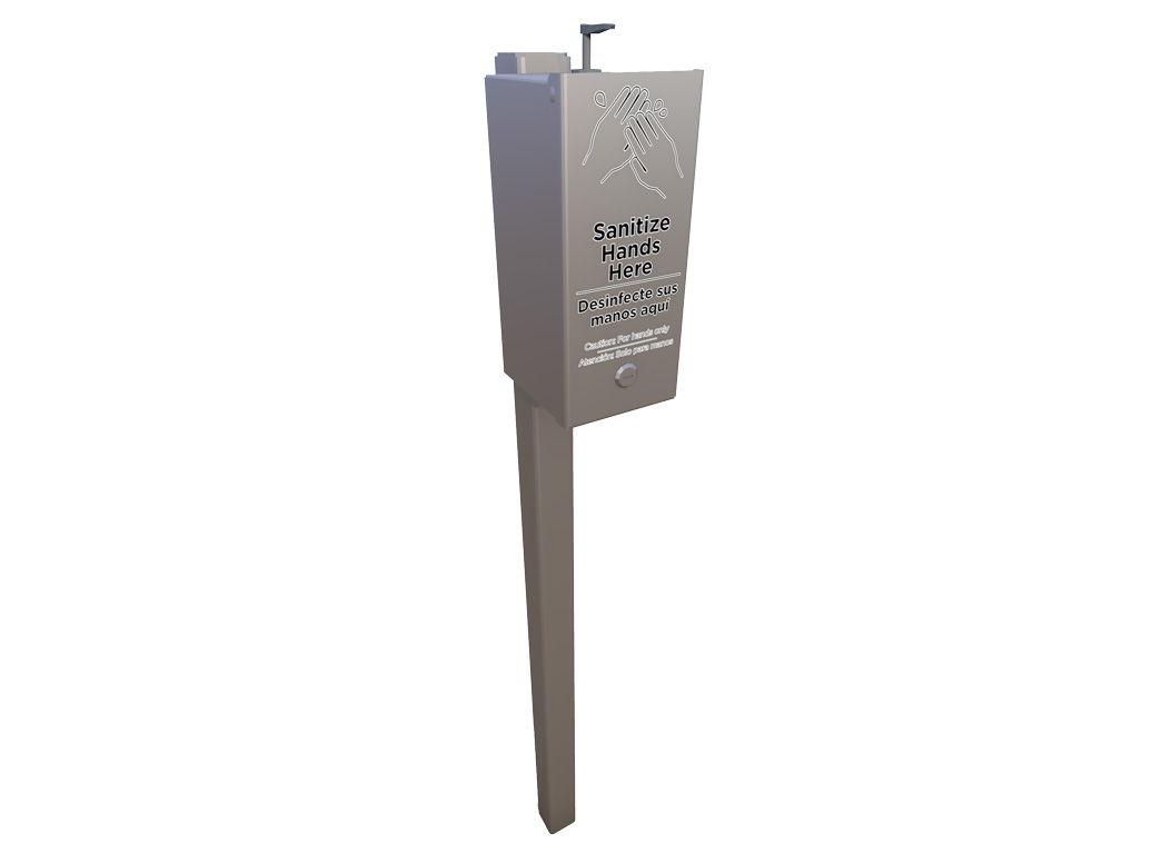 Small Sanitation Station | Site Furnishings | American Parks Company