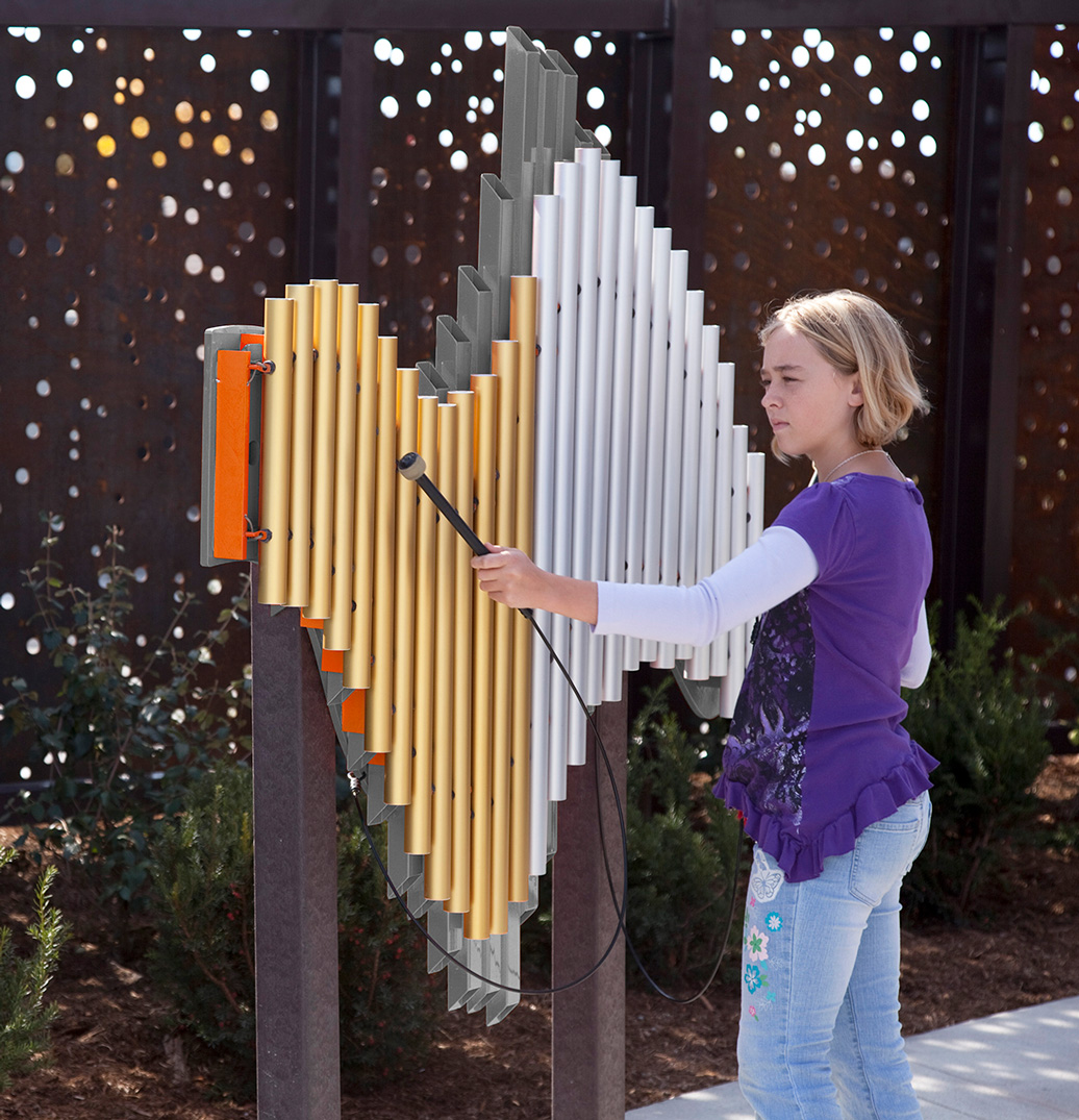 Swirl - Outdoor Musical Instruments - American Parks Company