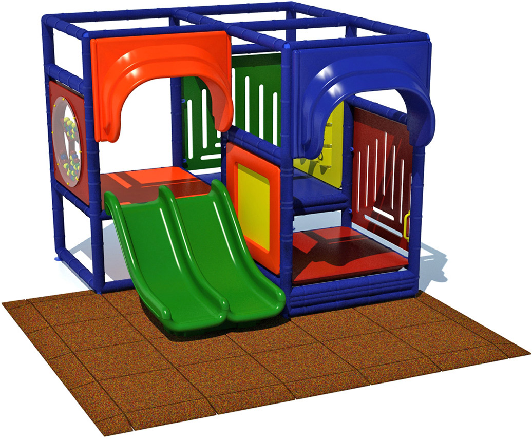 Toddler 2 Indoor Commercial Play Structure | Commercial Playground Equipment
