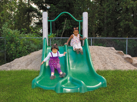 Embankment Slide - Independent Play - Commercial Playground Equipment